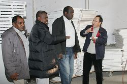 maize milling project customer visit